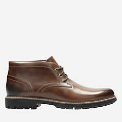 Batcombe Lo Dark Tan Leather mens-dress-boots