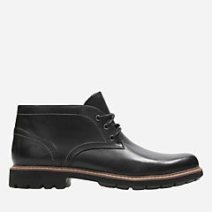 Batcombe Lo Black Leather mens-dress-boots