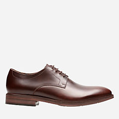 Mckewen Plain Mahogany Leather mens-bostonian-dress-shoes