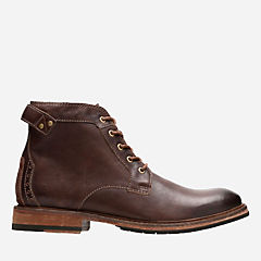 Clarkdale Bud Mahogany Leather mens-casual-boots