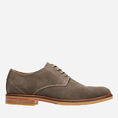 Clarkdale Moon Olive Suede mens-oxfords-lace-ups