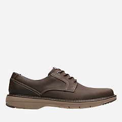 Cushox Pace Dark Brown Nub mens-oxfords-lace-ups