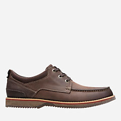 Katchur Edge Dark Brown Nubuck mens-oxfords-lace-ups