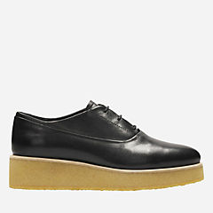 Ornella Derby Black Leather originals-womens