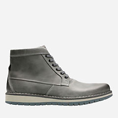 Varby Top Dark Grey Lea mens-casual-boots