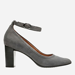 Chryssa Jana Grey Suede womens-ortholite