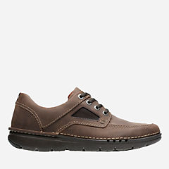 Unnature Time Dark Brown Leather mens-unstructured