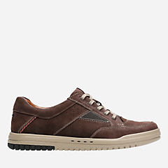 Unrhombus Go Dark Brown Nub mens-oxfords-lace-ups