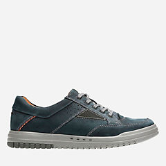 Unrhombus Go Dark Navy Nubuck mens-oxfords-lace-ups