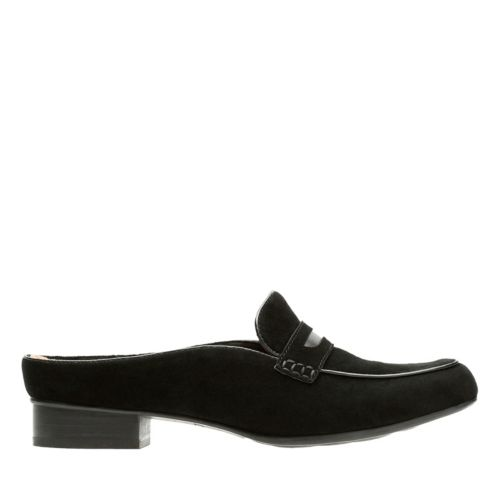 Keesha Donna Black Suede womens-artisan