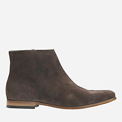 Form Mode Dark Brown Suede mens-dress-boots