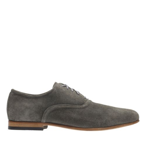 Form Lace Grey Suede mens-oxfords-lace-ups