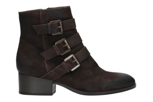 Elvina Haze Dark Brown Suede sale-new-markdowns