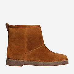 Drafty Day Tan Suede womens-ankle-boots