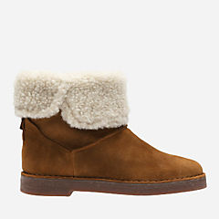 Drafty Haze Tan Suede womens-ankle-boots