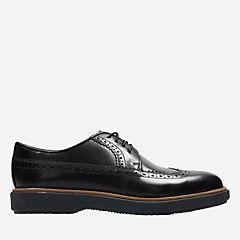 Modur Limit Black Leather mens-oxfords-lace-ups