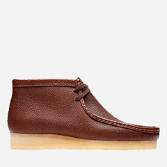 Wallabee Boot Cola Leather originals-new-arrivals