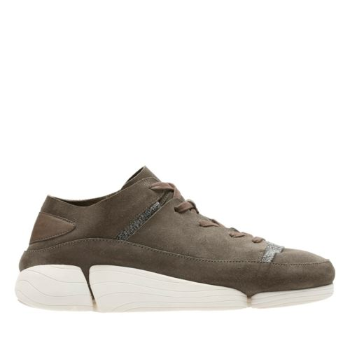 Trigenic Evo Grey Suede originals-mens