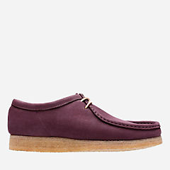Wallabee Purple Grape Nubuck originals-mens-shoes