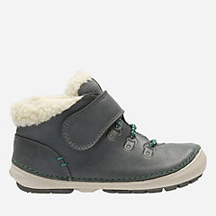 Softly Tex Fst Grey Combi Leather boys-boots