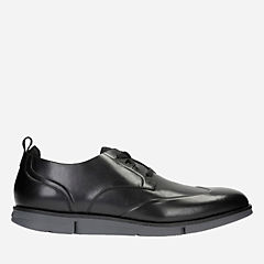 Trigen Wing Black Interest mens-oxfords-lace-ups