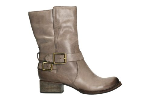 Monica Soul Taupe Leather womens-midcalf-boots