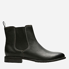 Maypearl Nala Black Leather womens-ankle-boots