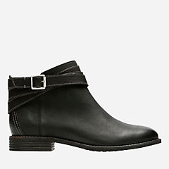 Maypearl Edie Black Leather womens-ortholite