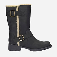 Orinoco Art Black Leather womens-boots