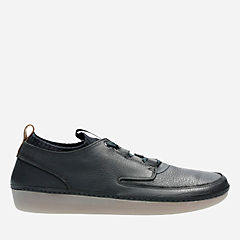 Mens Nature IV Black Leather mens-active
