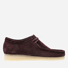 Wallabee Burgundy Suede originals-mens-shoes