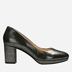 Kelda Hope Pewter Metallic womens-heels
