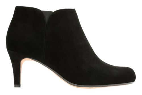 Arista Paige Black Suede womens-collection