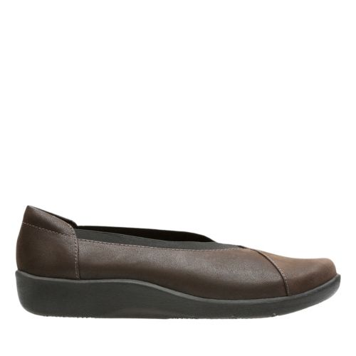 Sillian Holly Brown Synthetic Nubuck sale-womens-flats