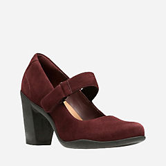 Adya Clara Burgundy Suede womens-ortholite