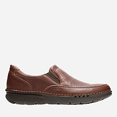 Unnature Easy Brown Leather mens-loafer-slip-on