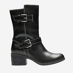 Maypearl Oasis Black Leather womens-ortholite