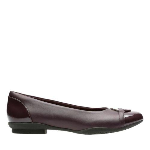 Clarks Shoes Neenah Vine Aubergine