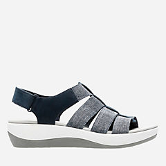 Arla Shaylie Navy/White Heathered womens-sandals-view-all