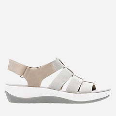Arla Shaylie Sand White Heathered Elastic womens-sandals-view-all