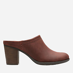 Enfield Sandy Mahogany Leather womens-wide-width