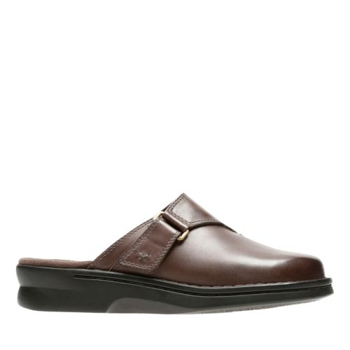 Patty Nell Dark Brown Leather womens-ortholite