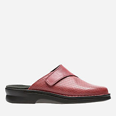 Patty Tayna Red Leather womens-ortholite