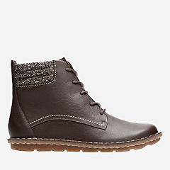 Tamitha Rose Dark Brown Tumbled Leather womens-collection