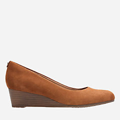 Vendra Bloom Tan Suede womens-narrow-width