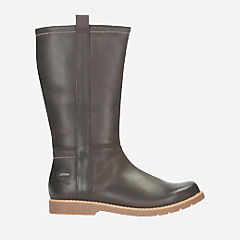 Tildy Hi GTX Youth Dark Brown Lea girls-boots