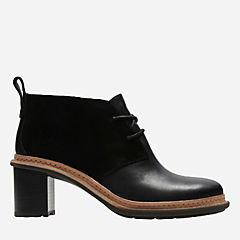 Trace Glow Black Combi womens-ankle-boots