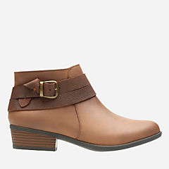 Addiy Cora Tan Leather womens-wide-width