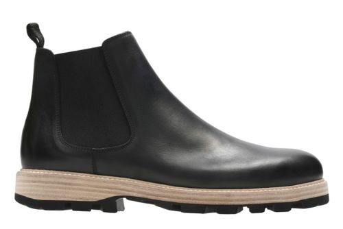 Lorwin Mid Black Leather originals-mens-boots
