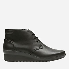 Caddell Hop Black Synthetic Nubuck womens-collection